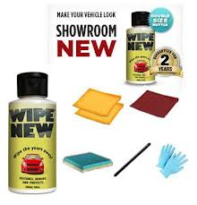 Wipe New the car restorer